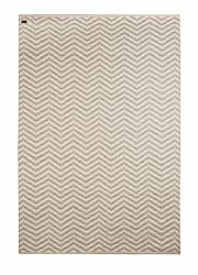 Wool rug - Wave (beige)