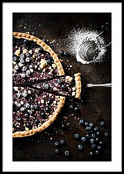 Pie with berries