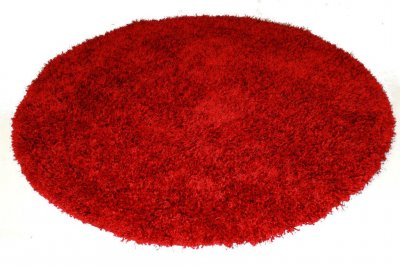 Round rugs (red) - Spectrum