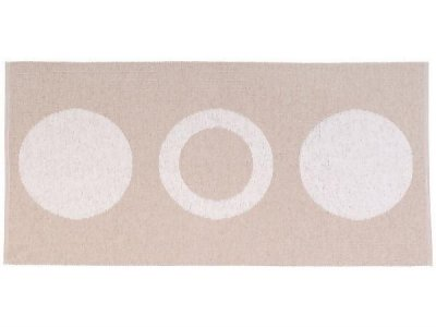 Plastic Mats - The Horredmatta Circle (beige)