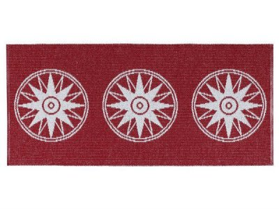 Plastic Mats - The Horredmatta Compass (red)