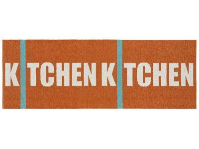 Plastic Mats - The Horredmatta Kitchen (orange)