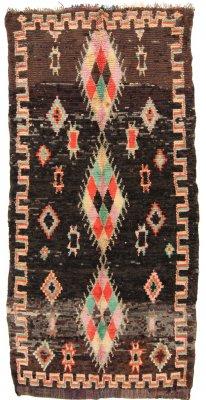 Moroccan Berber Rug Boucherouite 365 X 165 Cm