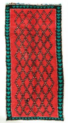 Moroccan Berber Rug Boucherouite 370 X 170 Cm