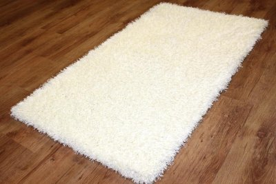 Shaggy rugs - Chester (white)
