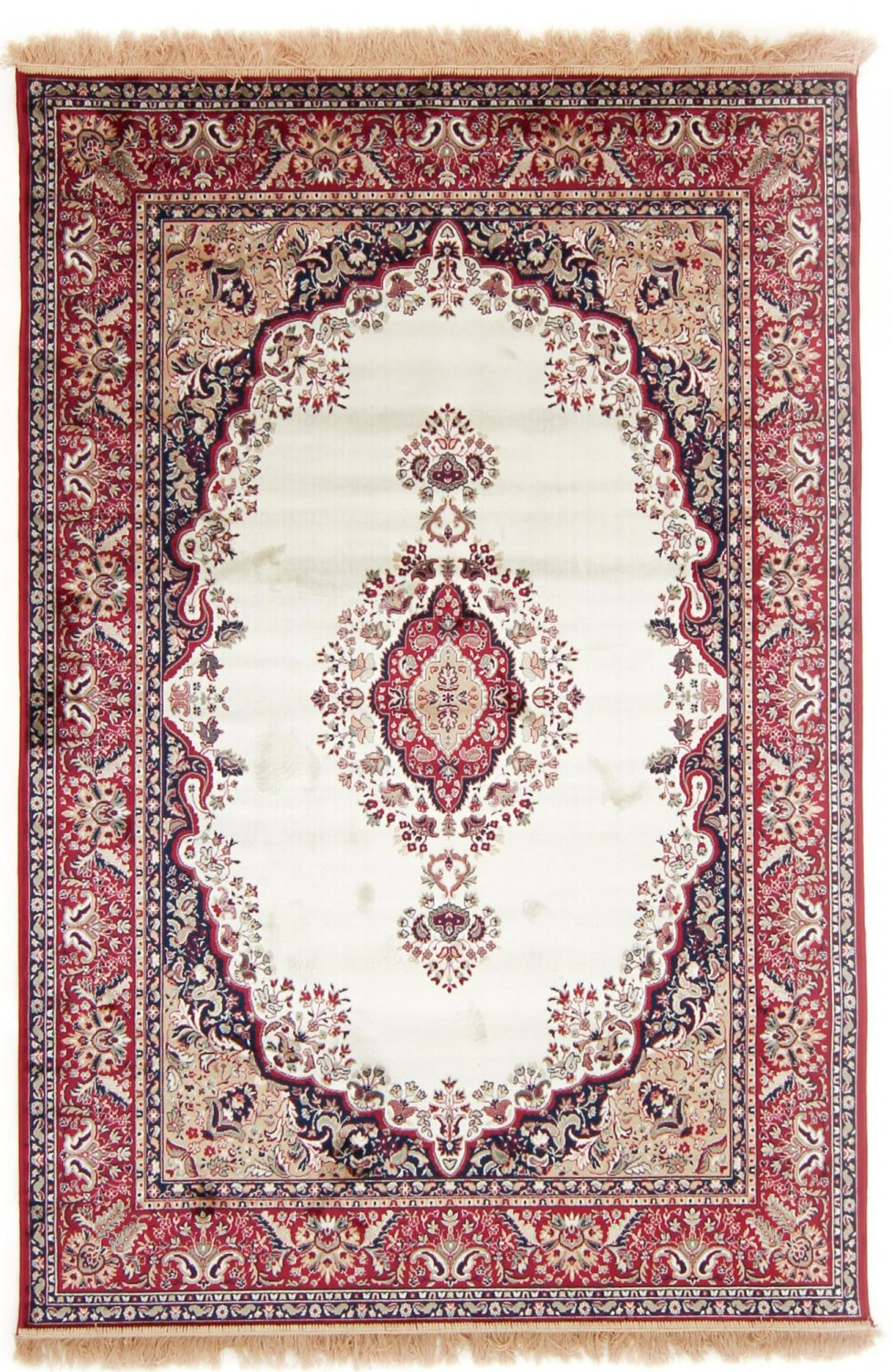Rug 160 X 230 Cm Wilton Battista Ivory Red