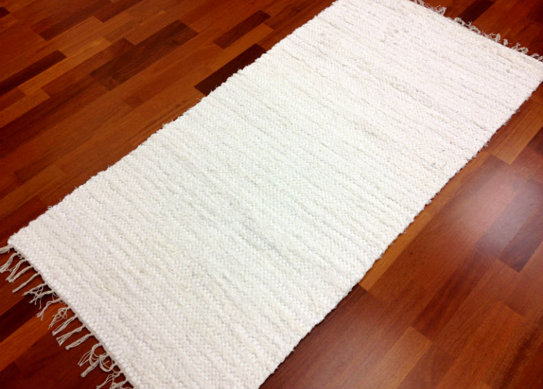 Rag rugs from Stjerna of Sweden - Victoria (white)