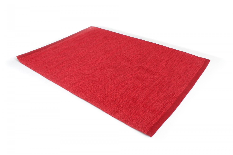 Rag Rugs Slite Red Rag Rug Red
