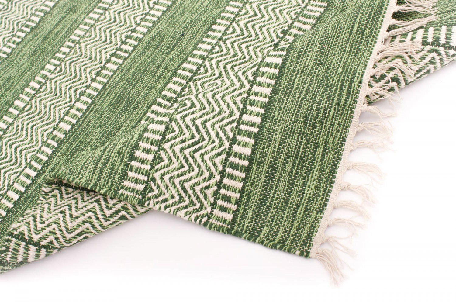rag rugs from streh g of sweden havtorn green. Black Bedroom Furniture Sets. Home Design Ideas