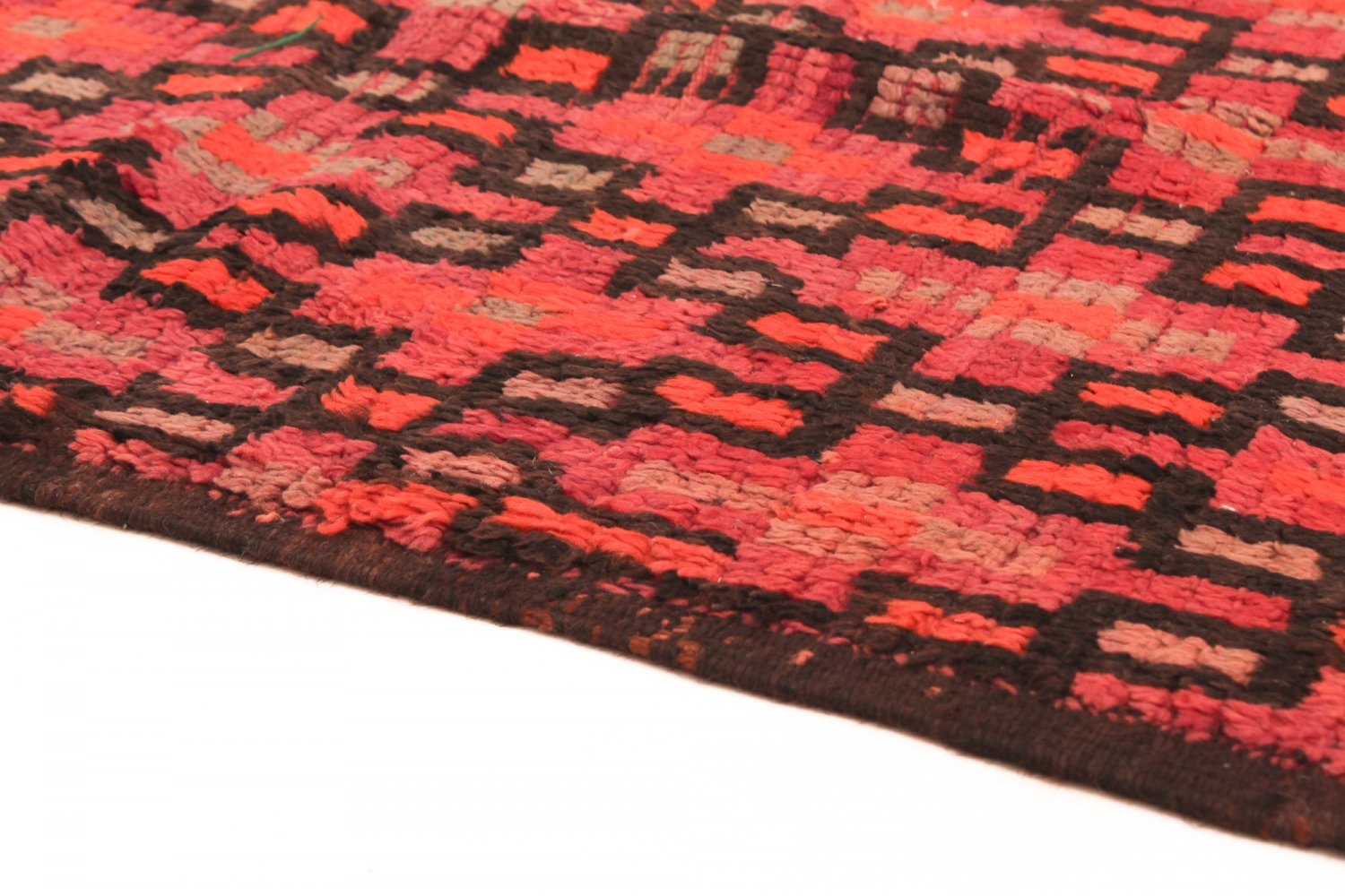 moroccan berber rug boucherouite 415 x 115 cm. Black Bedroom Furniture Sets. Home Design Ideas
