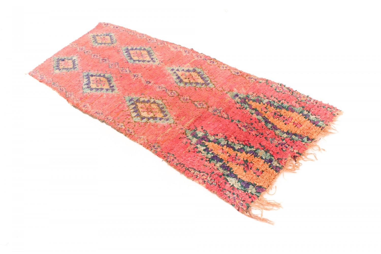 moroccan berber rug boucherouite 240 x 90 cm. Black Bedroom Furniture Sets. Home Design Ideas