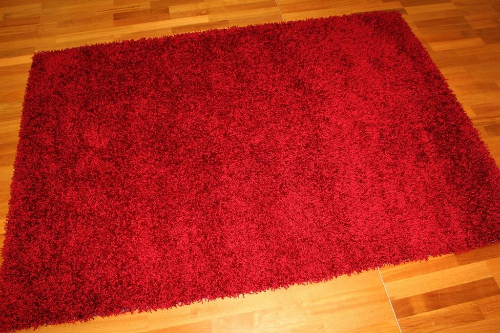 Shaggy rugs - Fancy (red)