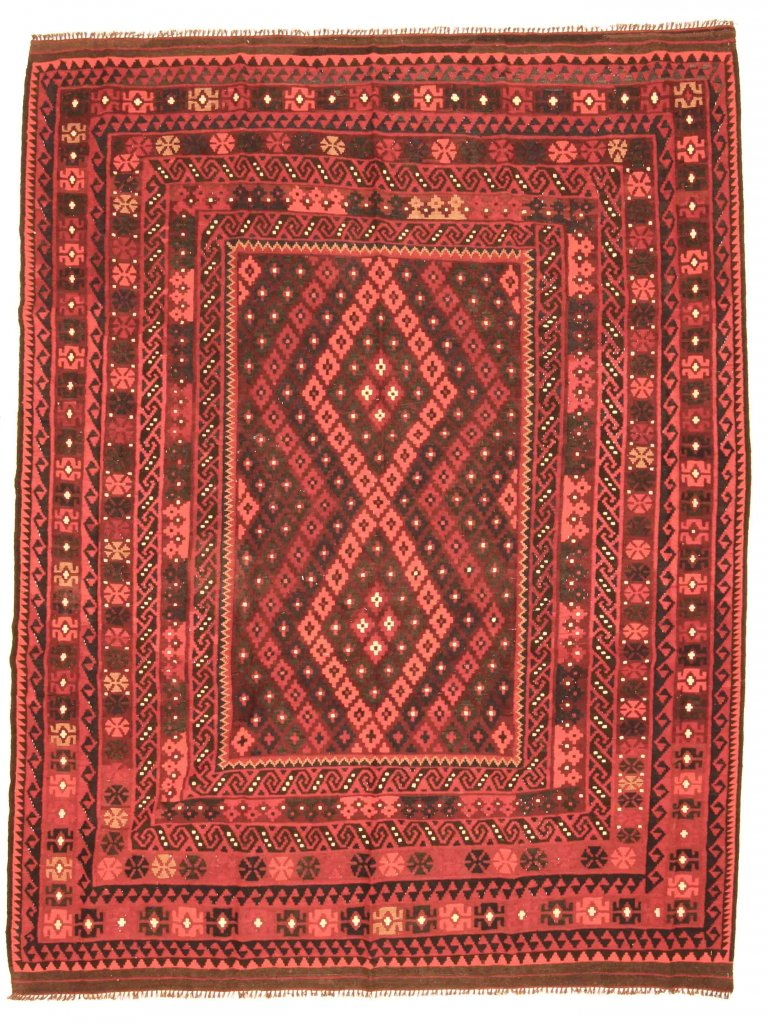 kilim rug afghan 294 x 225 cm kilim rugs red. Black Bedroom Furniture Sets. Home Design Ideas