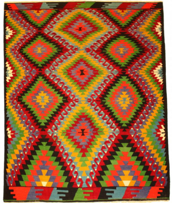 Kilim rug Turkish 306 x 203 cm