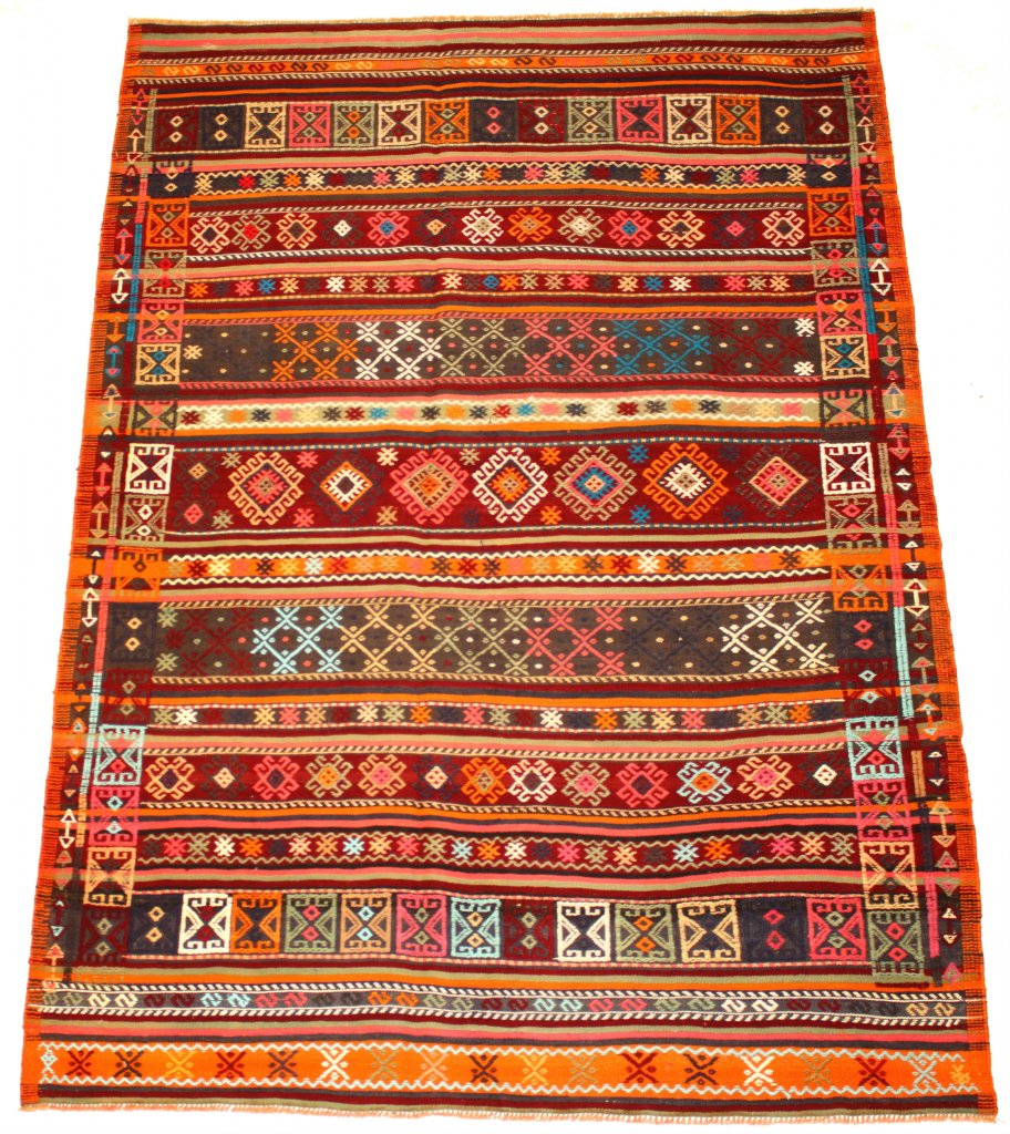Kilim rug Turkish 223 x 156 cm