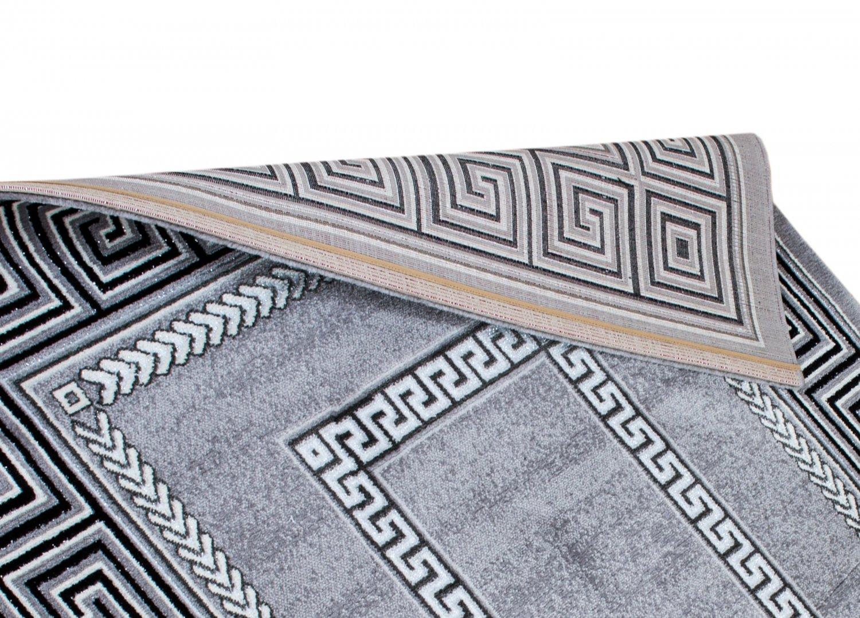 Wilton Rug Ankara Versace Grey Grey Rugs