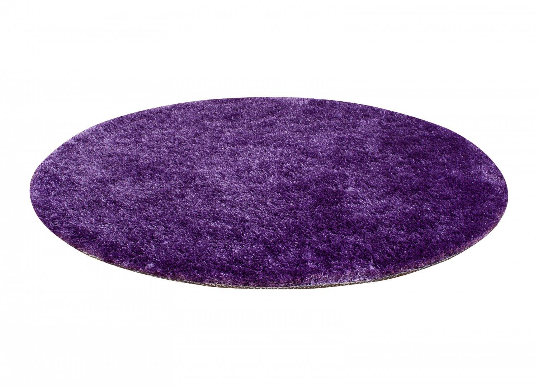 Round Rugs Cosy Purple Purple Rugs
