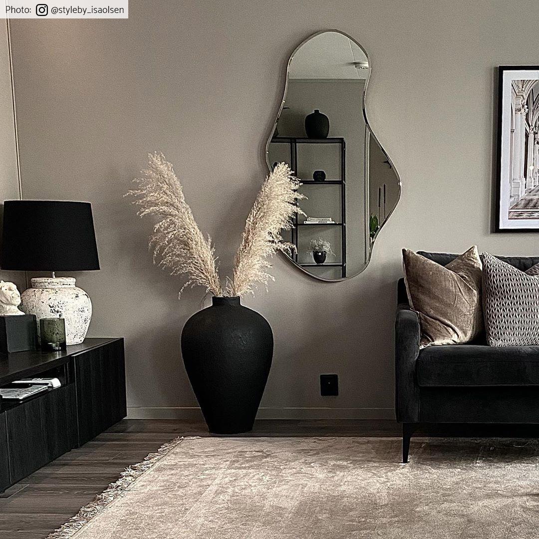 Wilton Rug Art Silk Beige Living Room Rugs