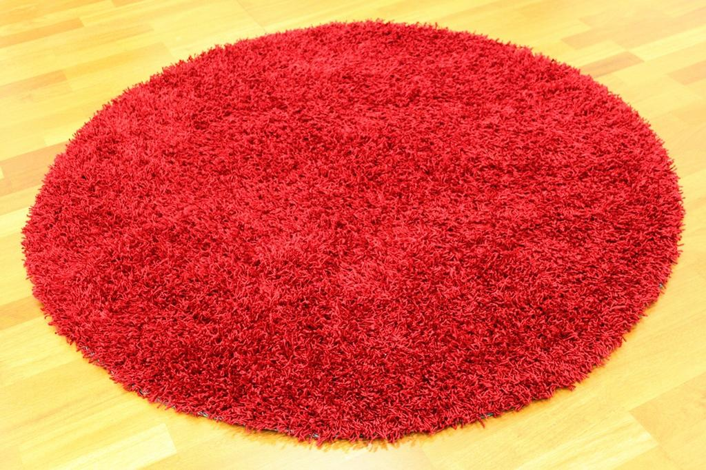 Round rugs - Fancy (Red)