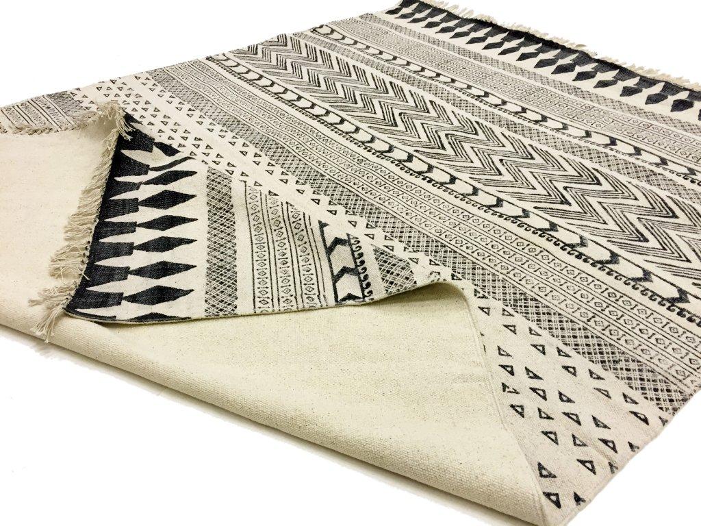 rag rugs marrakech black grey white rag rugs. Black Bedroom Furniture Sets. Home Design Ideas