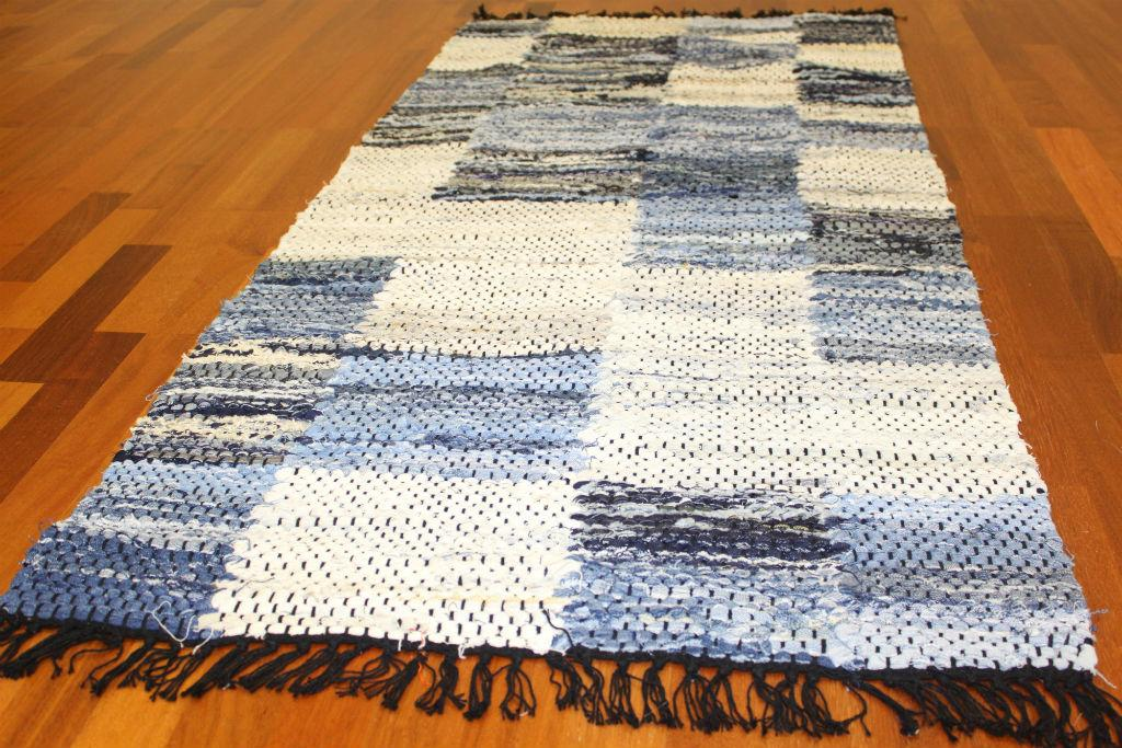 Rag Rugs Large Jeans Patchwork 160 X 230 Cm