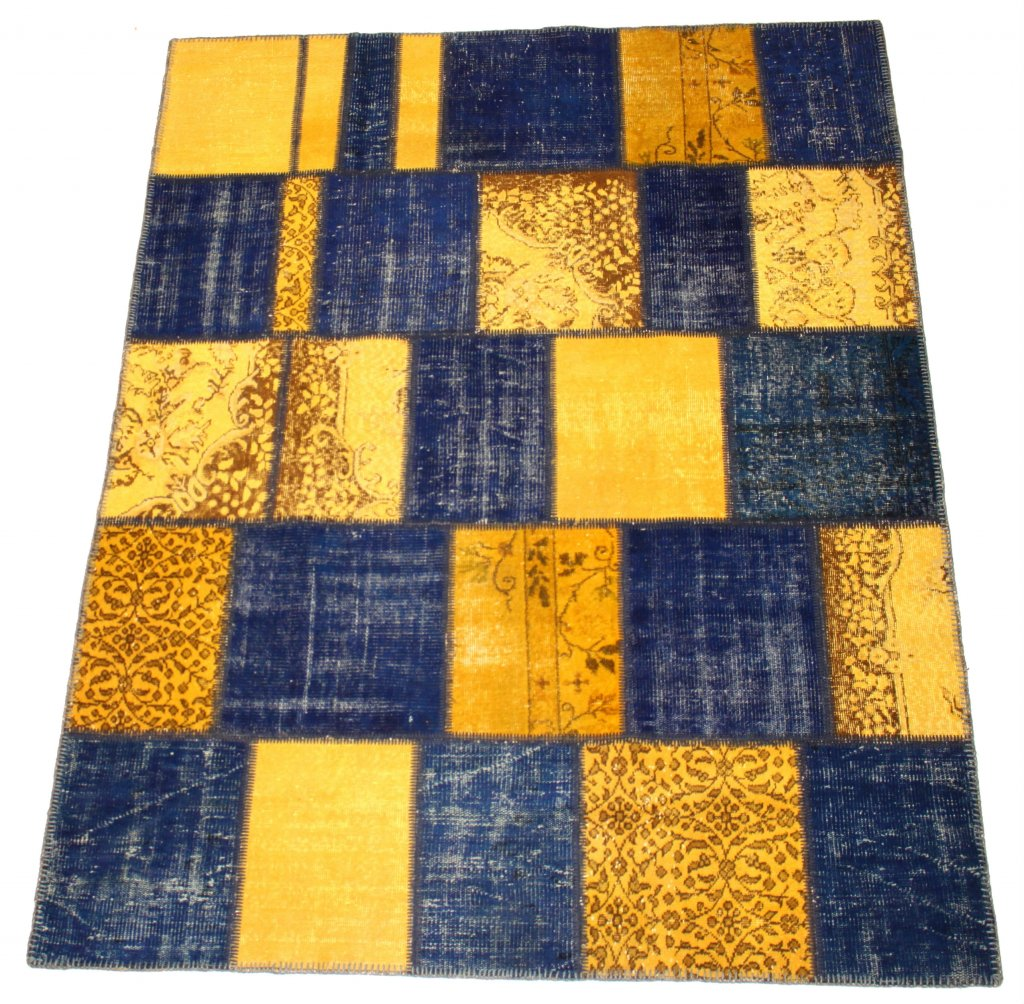 Patchwork Vintage Carpet 252 x 190 cm