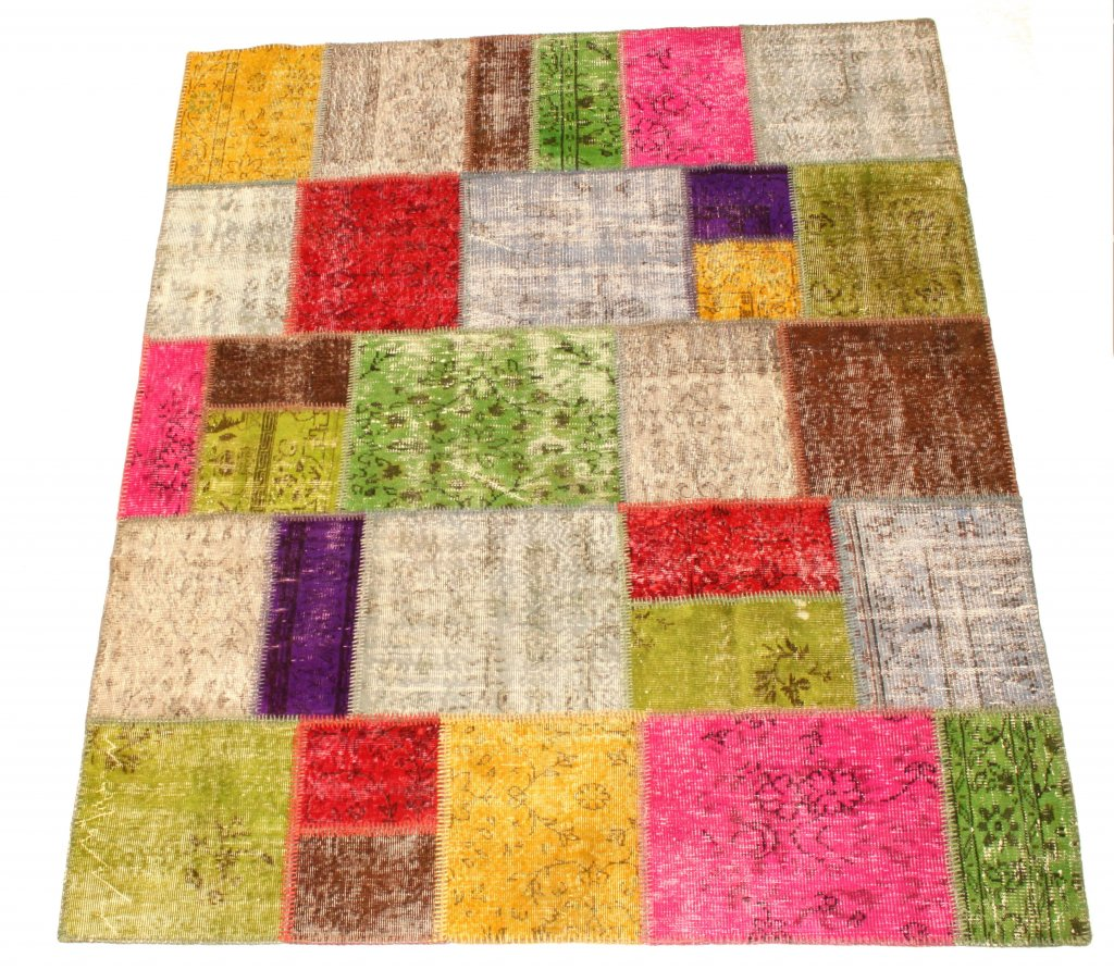 Patchwork Vintage Carpet 250 x 208 cm