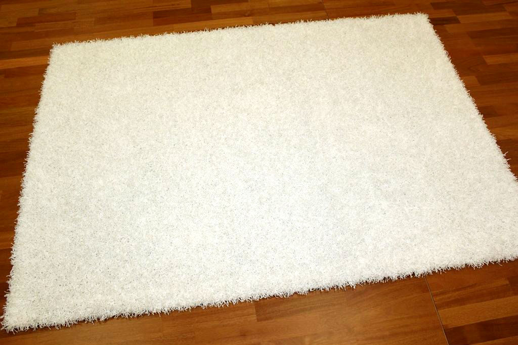 Shaggy rugs - Fancy (white)