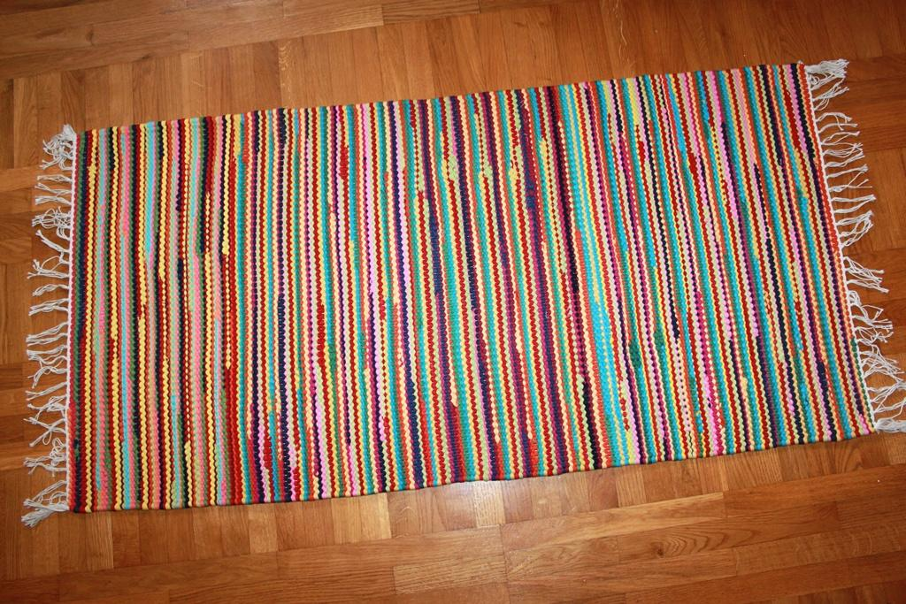 Rag rugs from Strehög of Sweden - Tulka (multi)
