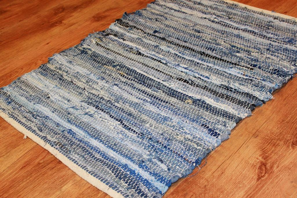 Rag Rugs Nordal Design Denim Jeans Rag Rugs