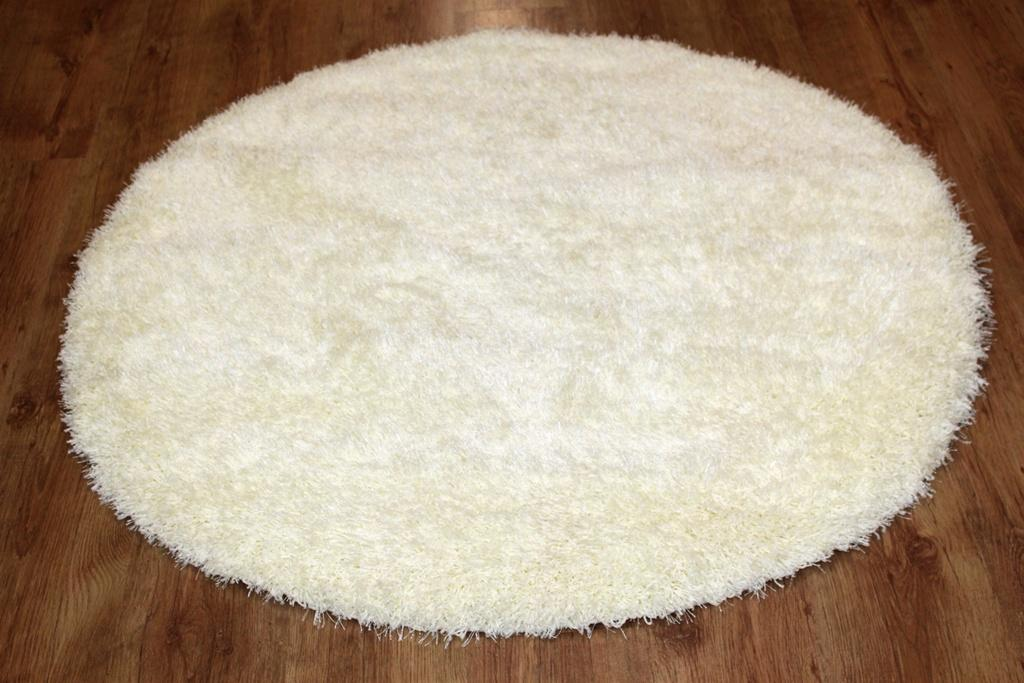 Round rugs (white) - Spectrum