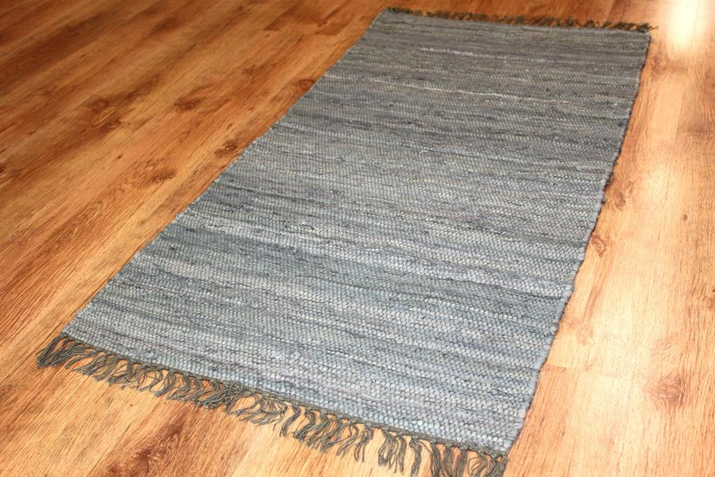Rag rugs - Cotton (grey)