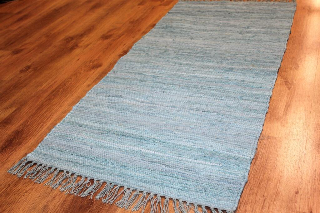 Rag rugs - Cotton (blue)